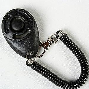 Portable Triple Couronne Clicker pour chien chiot Command & Trick Formation obéissance Méthode