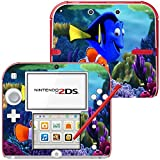 Photo Art 10122, Nemo, Skin Sticker Vinyl Cover with Leather Effect Laminate and Colorful Design for Nintendo 2DS