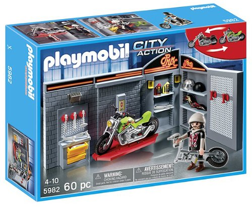Playmobil - Motor Bike Shop - 5982
