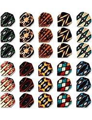 CUESOUL 10 Sets Unique Design Fléchette Standard Vols Gros
