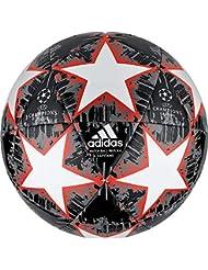 best service e421e d830b adidas Finale18 Captain Ballon Mixte Adulte, White Black Solar Red Grey Five