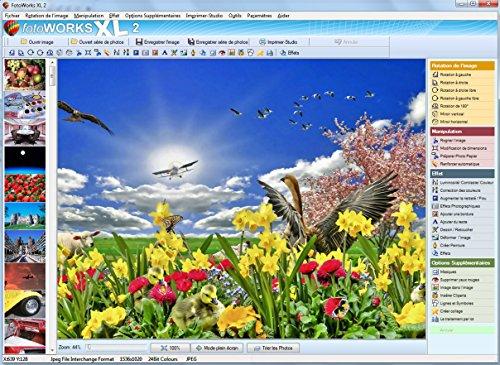 FotoWorks XL (2018) - Logiciel Photo, Photo editor pour modifier photo, editeur photos, traitement photo, logiciel retouche photo, photo montage - Très facile à utiliser
