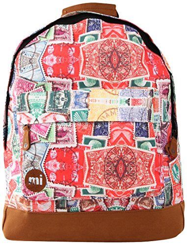 Mi-Pac Vintage Stamps - Mochila infantil, color multicolor, talla FR: 41 cm