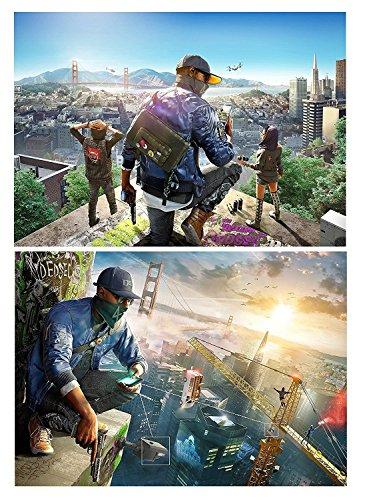 Preisvergleich Produktbild 2 Watch Dogs 2 Posters