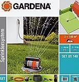 Gardena Komplettset mit Versenk-Viereckregner OS 140