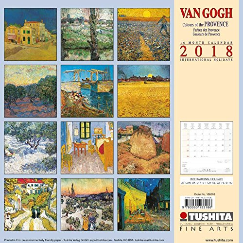 Van Gogh Colours of the Provence 2018