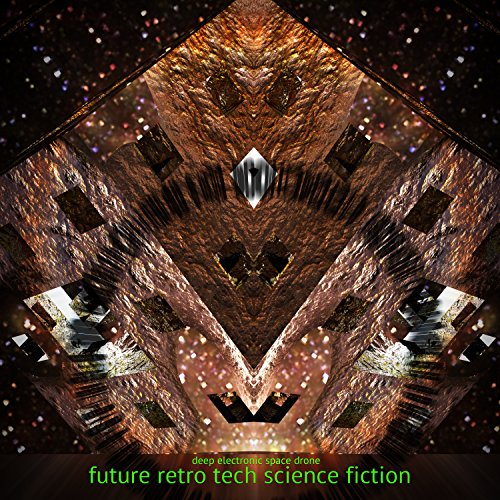 Future Retro Tech Science Fiction - Deep Electronic Space Drone