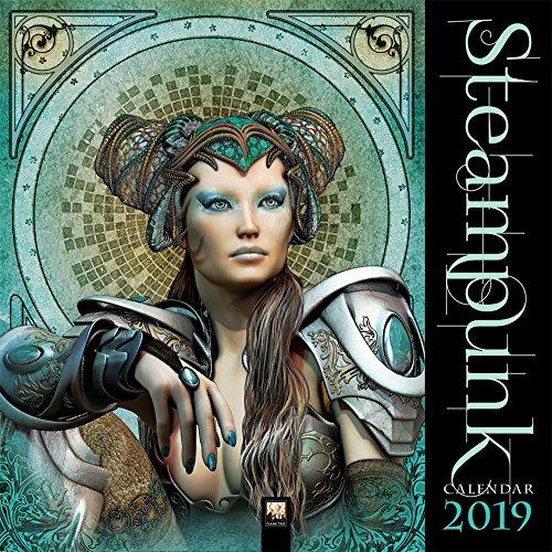 Steampunk 2019: Original Flame Tree Publishing-Kalender (Wall Calendar)