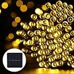 GDEALER LED Solar Lichterkette Weihna...