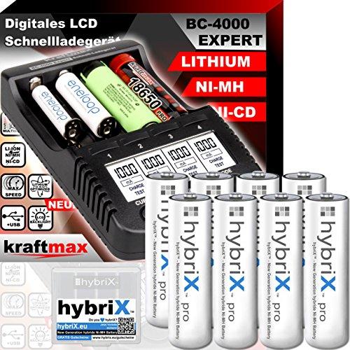 BC4000Expert-Cargador de pilas universal