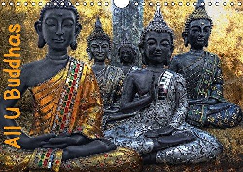 All U Buddhas (Wandkalender 2018 DIN A4 quer): Bilder von Buddhas in kunstvoller Bildgestaltung (Monatskalender, 14 Seiten ) (CALVENDO Glaube) [Kalender] [Apr 01, 2017] G. Pinkawa, Joachim Balance Skulptur