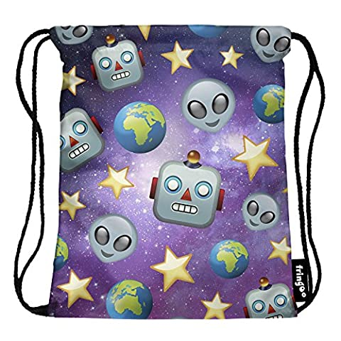 Fringoo® Girls Boys Children PE Kit Drawstring Bag Duffel Gym