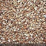 Steinteppich Marmorkies für 2qm | BEKATEQ BK-600EP Bodenbelag Bodenbeschichtung (25KG Marmorkies + 1,5KG Bindemittel, Terracotta - Rosso Verona)