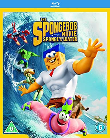 The Spongebob Movie: Sponge Out of Water [Blu-ray] [Region