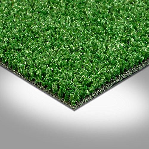 Kunstrasen Rasenteppich Fertigrasen mit Noppen 7mm grün 200 und 400 cm breit, verschiedene Längen, Variante: 3 x 4 m