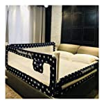 HENGYUS Bed Rail Guard For Kids Seamless Stitching Stable Structure Breathable Anti-fall Detachable Easy To Clean,2...