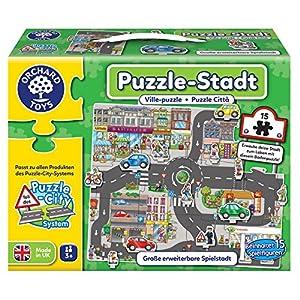 Orchard_Toys 10245-Puzzle, Superficie de Ciudad, 15Piezas, Juego de Puzzle 66.6X 54.2cm