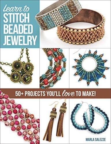 Learn to Stitch Beaded Jewelry por Marla Salezze