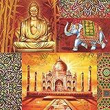 Diseño de Decoupage servilletas la India Orient