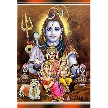 Mahalaxmi Art Bhole Nath Family Maa Parvati Ganesh And Kartikey Ji