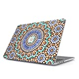 BURGA Hülle Kompatibel Für MacBook Air 13 Zoll Modell: A1466 / A1369 Pastel Illusion Moroccan Marrakesh Tile Pattern Colorful Mosaik Hard Plastik Case