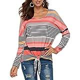 Lover-Beauty Maglietta Donna Camicetta Manica Corta T-Shirt Cotone Estivo Senza Spalline Stampa Piccola Fata Sciolto Casuale