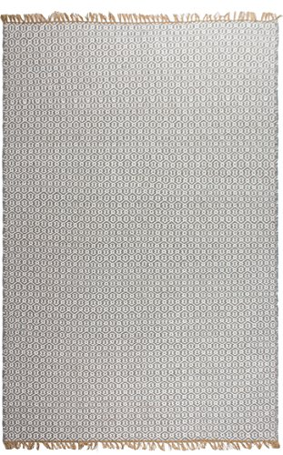 Fab Hab - Intérieur / Extérieur PET Tapis - Lancut en Gris (180 cm x 270 cm)