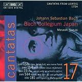 Bach, J.S.: Cantatas, Vol. 17 - Bwv 73, 144, 153, 154, 181