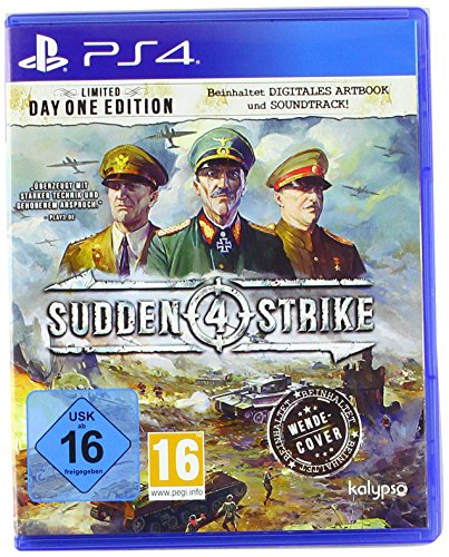 Sudden Strike 4 [PlayStation 4] (Halo Die Playstation 4 Für)