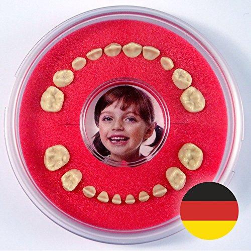 Milchzahndose >Firsty Round< (Rot, Jungen, Mädchen) ABF Deutsch
