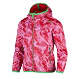 CMP Ragazza della Funzione Giacca Girl Fix Hood Jacket, AC Ibisco-Rose, 140