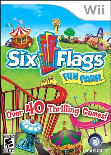 Six Flags Fun Park - Nintendo Wii by Ubisoft