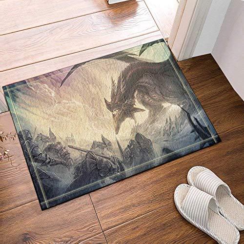 Fdsdatrfet dragon wings animalbathroom tappetino antiscivolo stampo bagno tappetino bagno antiscivolo protezione ambientale per bambini tappetino da bagno pieghevole ad asciugatura rapida