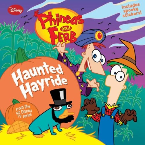 Phineas and Ferb Haunted Hayride (Ferb Phineas Y Halloween)