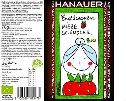 """Hanauer Bio Erdbeeren""""Mieze Schindler"""", 1er Pack (1 x 70 g)"""