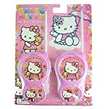 Walkie Talkies For Kids Hello Kitty Design BRAND NEW Toy Walkie Talkie High Quality Walkie Talkie High Range for Outdoor / Indoor Environment Easy to Use Design Ideal Toy For and Young Child Kids