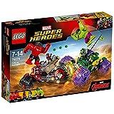 Lego 76078 Marvel Super Heroes Hulk gegen Red Hulk, Superhelden-Spielzeug