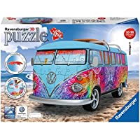 Ravensburger Italy - Camper Volkswagen Indian Summer Puzzle, 3D Veicoli, 12527