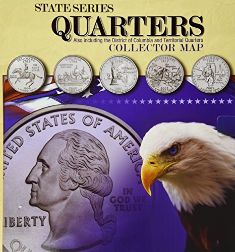 State Series Quarter Collector Map (Us Quarter State Map)