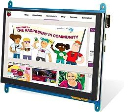 Elecrow Raspberry Pi Touchscreen Anzeige IPS Bildschirm, 7 Zoll Tiny 1024X600 HD TFT LCD Monitor für Raspberry Pi B + / 2B Raspberry Pi 3 Windows 10/8.1/8/7