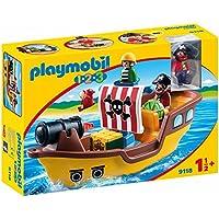 Playmobil 1.2.3 - Barco Pirata (9118)