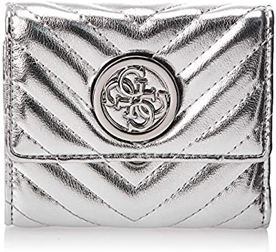 Guess Blakely SLG Small Trifold Silver