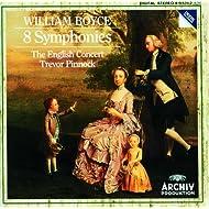 William Boyce: 8 Symphonies