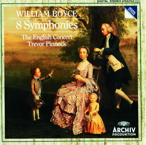 Boyce: Symphony No.1 in B flat...