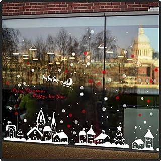 Großes Aufkleber Set Weihnachtsdeko 171 x 66 cm - Happy New Year Christmas Sticker