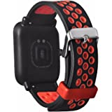 Tabcover for Xiaomi Amazfit Armband,20mm Soft Silikon Sport Replacement Strap Band for Xiaomi Huami Amazfit Bip Younth smart watch