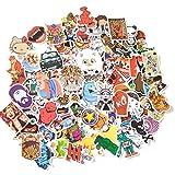 Mezele Autocollant Lot [100-pcs] Graffiti Autocollant Stickers vinyles pour ordinateur portable, enfants, voitures, moto, vélo, Skateboard bagages, Bumper Stickers hippie autocollants Bomb étanche