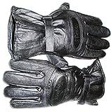 #8: Star Leather 1 Elegant Winter Gloves/ Bike Gloves/ Biker Gloves/ Motorcycle/ Bike Racing/ Riding/ Gym / Fitness / Full Fingers Gloves with Wrist Wrap & Best Grip For Men - Black