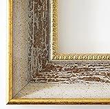 Bilderrahmen Monza Beige Braun 6,7 - Über 14000 Größen im Angebot zur Auswahl - 64 x 135 cm - Leerrahmen ohne Glas - Maßanfertigung
