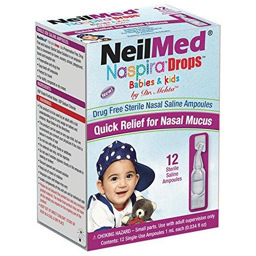 NeilMed Pharmaceuticals - Naspira Drops For Babies & Kids - 12 Pack -